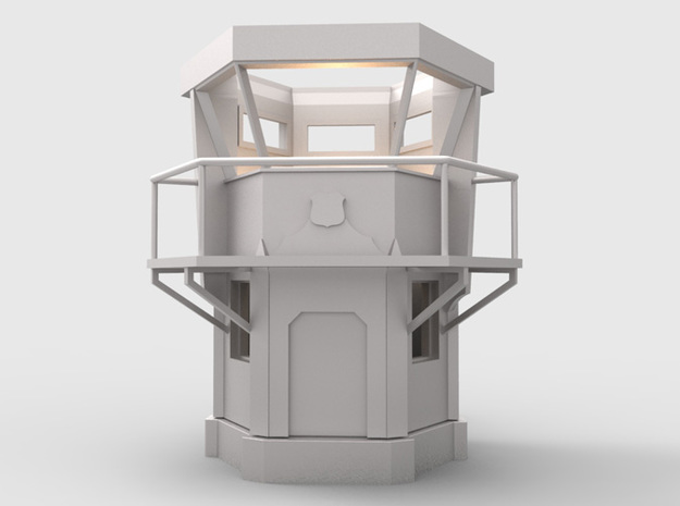 Laguna Beach Lifeguard Tower 3d printed