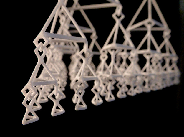 Ternary tree mobile (level 5) 3d printed