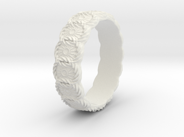 Daisy - Ring - US 6¾ - 17.12mm 3d printed