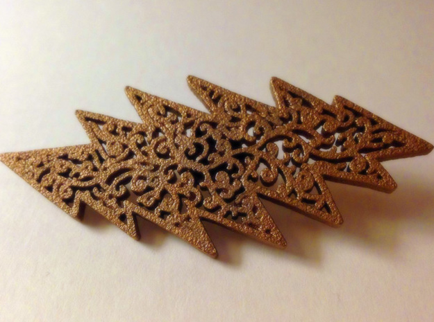 Filligree 13 Point Grateful Dead Bolt 3d printed