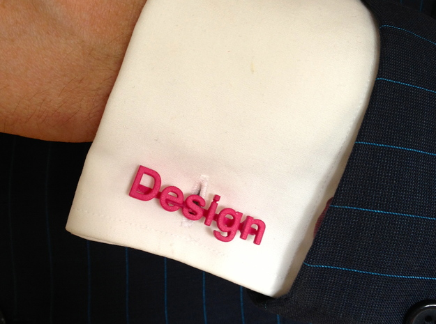 Design 3d printed Pink plastic again...
