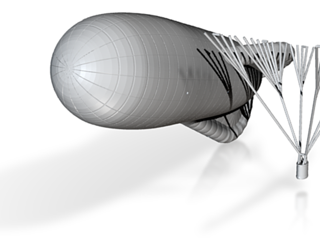1/144 Caquot Type M Observation Balloon 3d printed