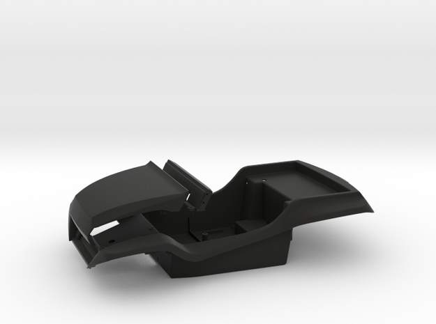 SR40004 Beach Buggy Main Body 3d printed Parts as they come from Shapeways (other parts sold separately)