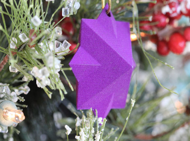PyraStar™ (Pyramid & Star) Ornament 3d printed