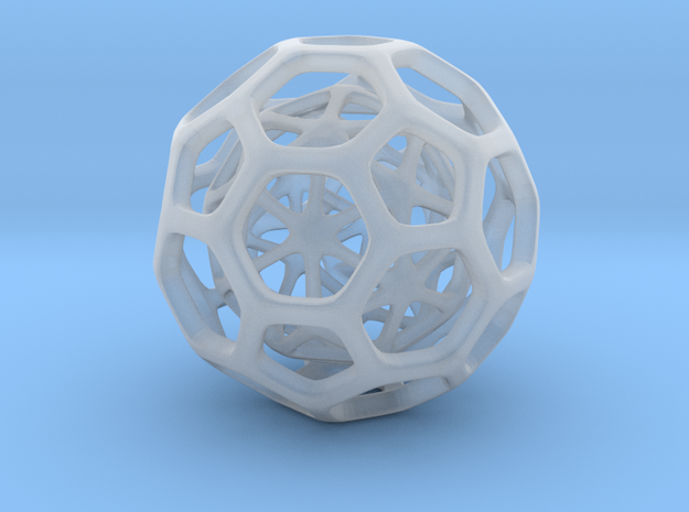 Little Hedron 3d printed