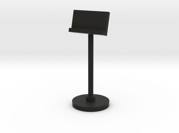 1:48 Music Stand 3d printed
