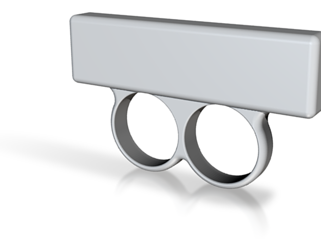 """""""APPLAUSE"""" Sign Ring (Various Sizes) 3d printed"""