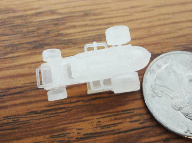 Micro Sprint Car 3d printed