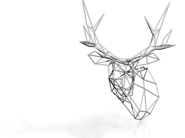 Wiredlife Stag 300mm Facing Left 3d printed