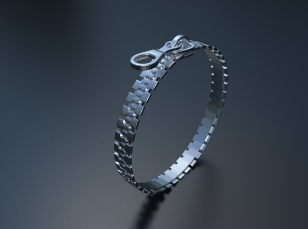 Zip Ring 3d printed