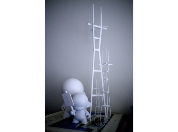 "Sutro (512mm / 20.2"" Tall) 3d printed"