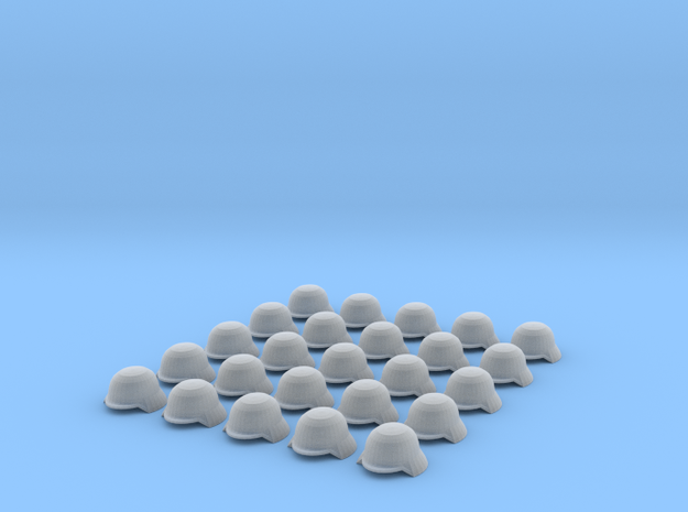 WW2 German Helmets for 28mm scale miniatures