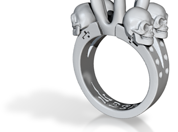 Kat Von D Engagement Ring Replica 3d printed