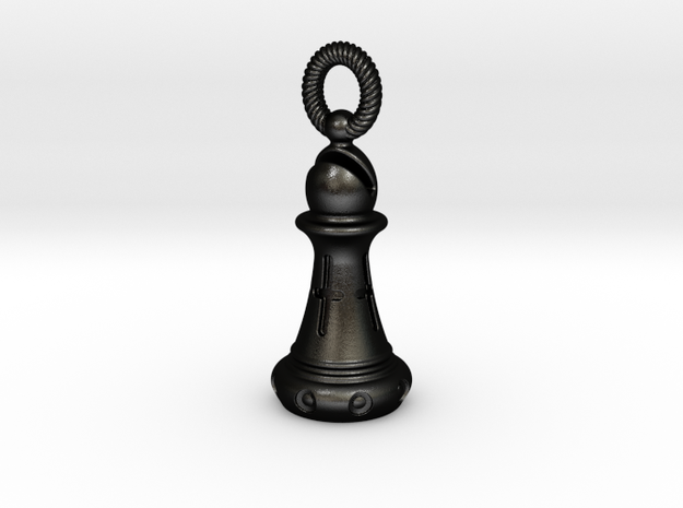 Chess Bishop Pendant 3d printed