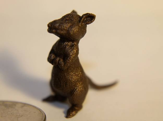 1 inch Mouse 3d printed