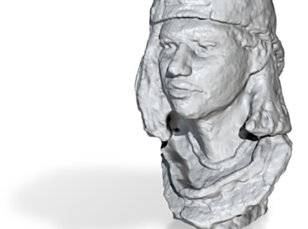 Girl with Cap 3d printed