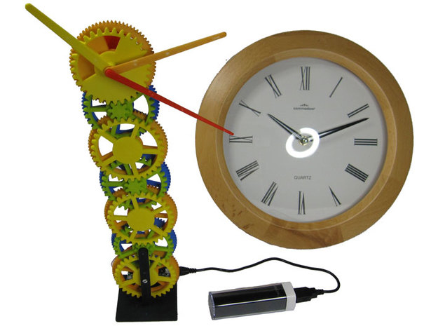 Gear Tower Clock - motorized