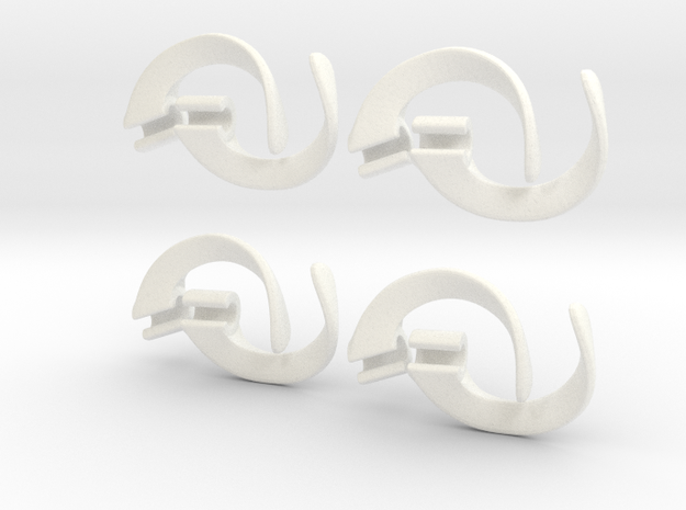 EarPod Savers four pack for active people 3d printed
