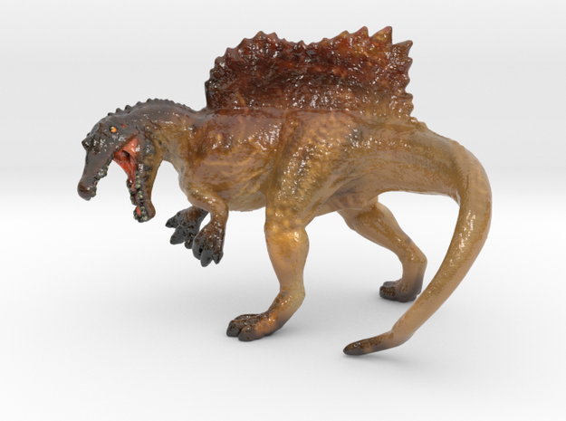 Spinosaurus Color 3d printed Spinosaurus in gloss by ©2012 RareBreed
