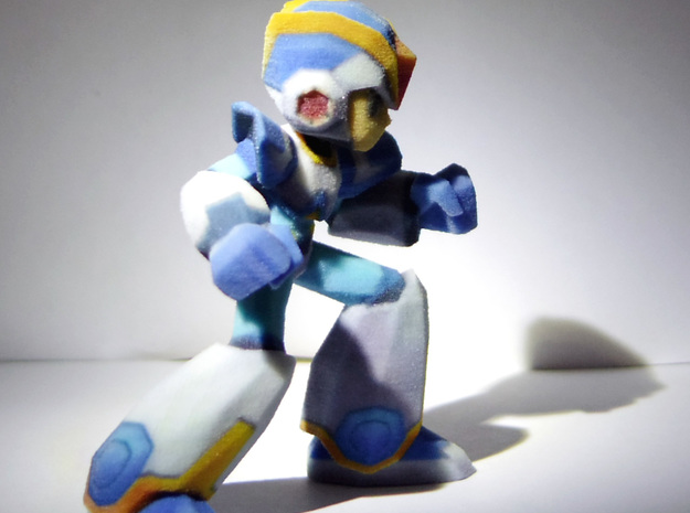 Megaman X Upgraded armor 60mm 3d printed