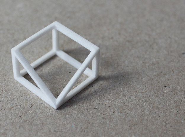 CUBE - ring or pendant - 3P