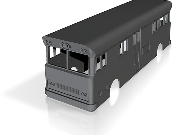 NSWR Paybus Second Series(O/1:48 Scale) 3d printed