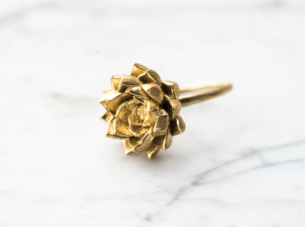 Size 8- Succulent Stacking Ring No. 5