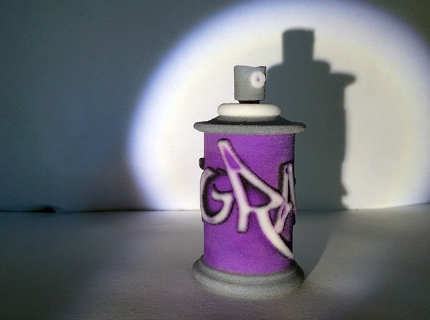 Paint Spray Graffiti 50mm 3d printed