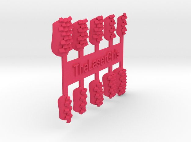 Cube Nails (Size 2) 3d printed
