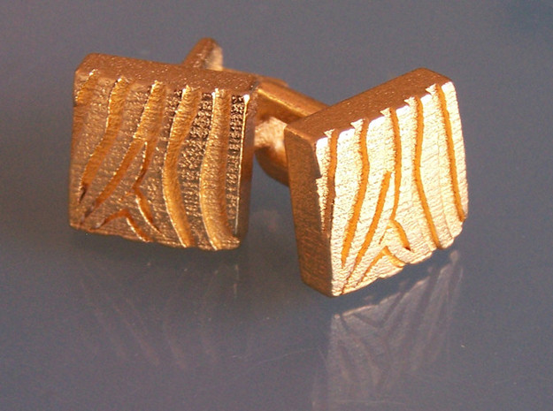 Eq Cufflinks Set 3d printed Front