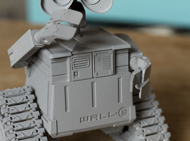 WALL-E 3d printed beautiful surface!