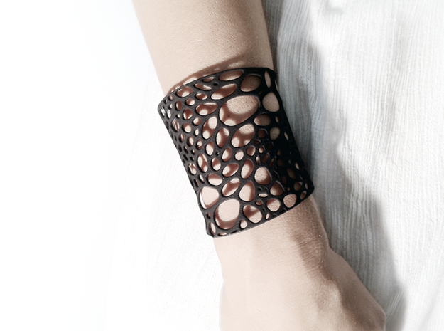 Voronoi bracelet #1 (MEDIUM)
