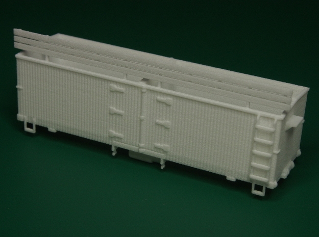 HOn30 25ft Reefer 3d printed what you get