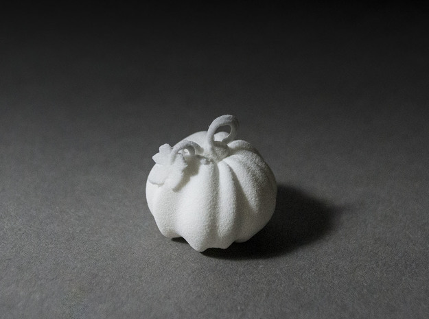 Pumpkin Earrings 3d printed
