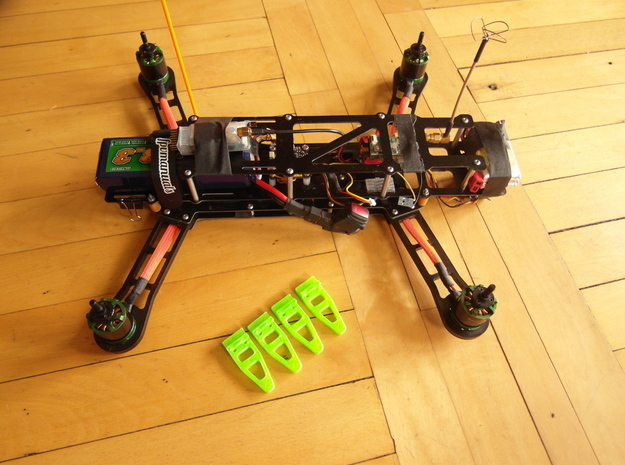 QAV 400 Foot 3d printed