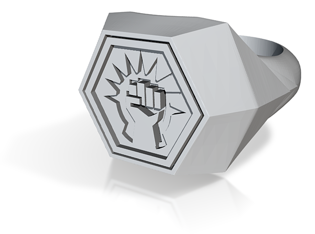 Magic: The Gathering Boros Ring(US Size 11) 3d printed
