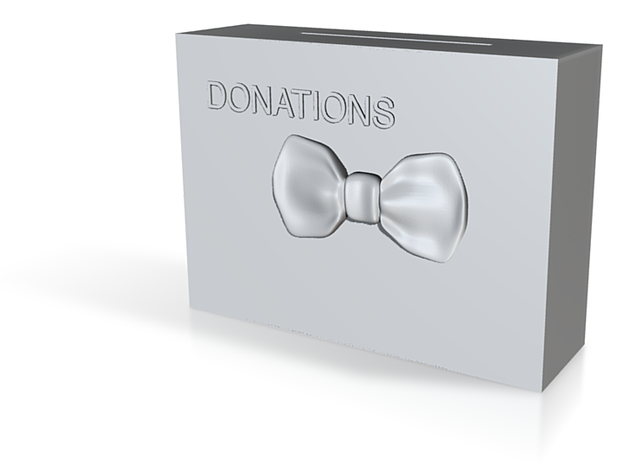 Donations Box for Nat 3d printed