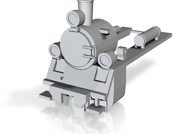 PX48 Smokebox and running plate OO scale 3d printed