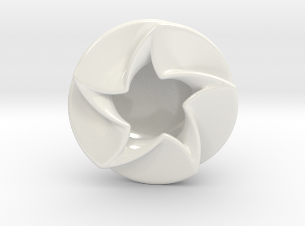 Spinning Star Dish 3d printed