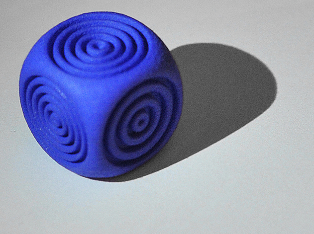 Ring Dice 3d printed