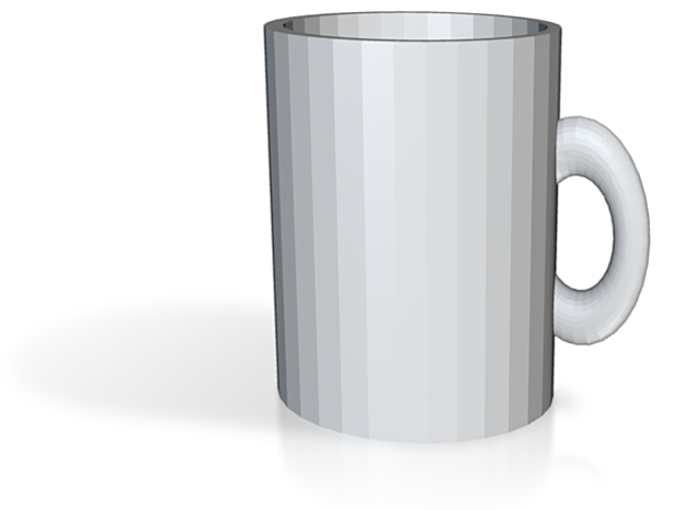 Small Espresso Coffee Cup 3d printed