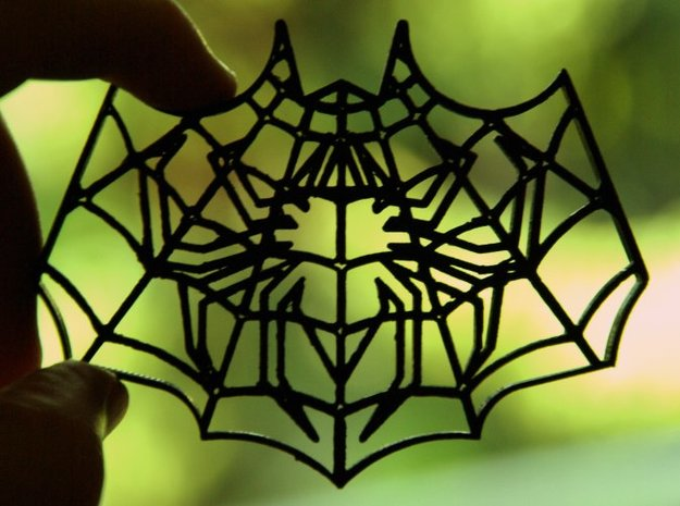 Spider-Bat Cookie Cutter (3 layers, 10 mm) 3d printed 3D print of the 3-layer Spider-Bat Cookie Cutter