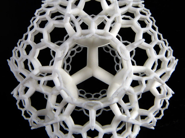 {6,3,3} H³ Honeycomb 3d printed