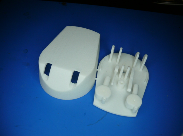 Working 6 inch turret kit x 1 1/96 3d printed