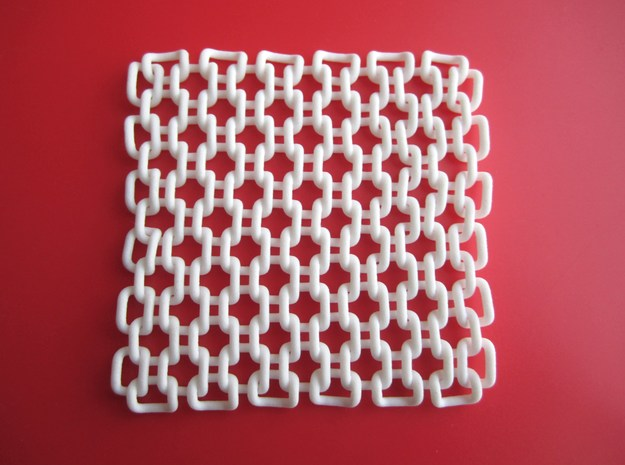 Square Fabric v1 3d printed