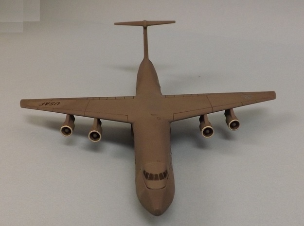 1/285 (6mm) C-5A Galaxy 3d printed