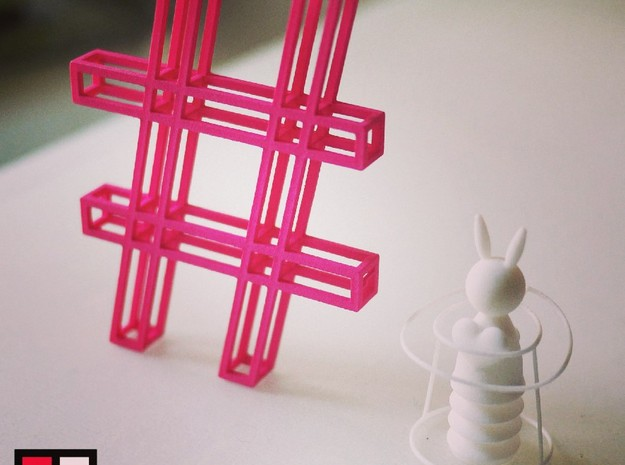 Magic Bunny - Ring Holder 3d printed