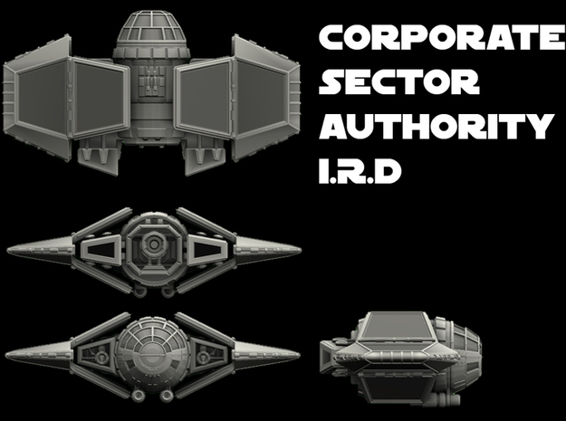 Corporate Sector IRD 1/270 3d printed
