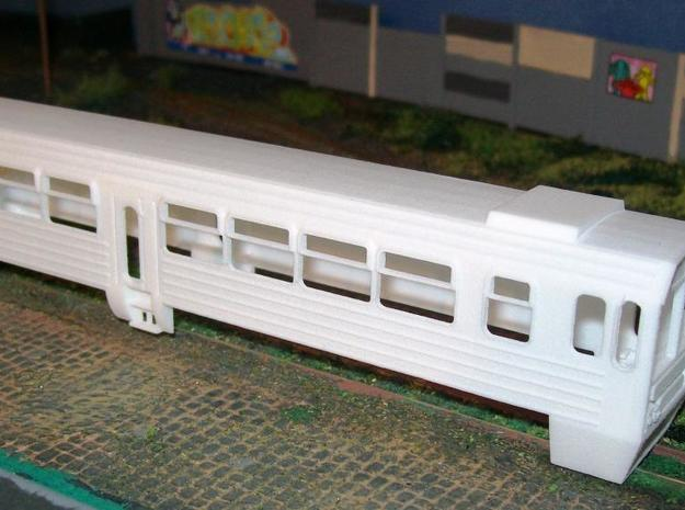 Mbxd2 - 001 railcar body, HOe scale