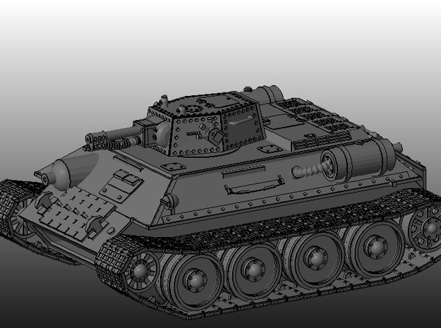 Ice Guards OT-34 Flamethrower tank 3d printed